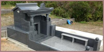 お墓を建てる