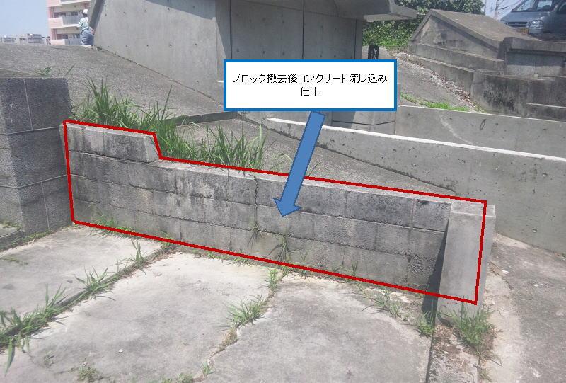 ④外柵改修プラン